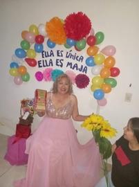 Mi mama es la mujer mas especial, ella es única, ella es Maja, te amo