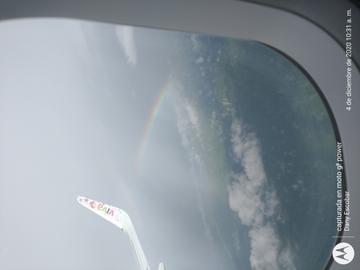 Siempre hay un arcoiris después de un día lluvioso! #ViajesDondeIr