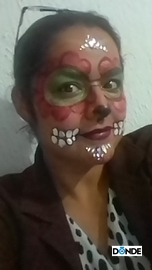 Disfraz catrina #DiaDeMuertosDondeIr