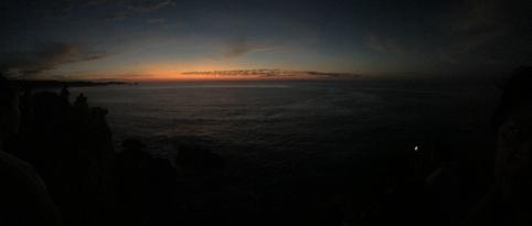 Amanecer en Punta Cometa