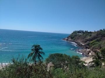 Playa Carrizalillo, Puerto Escondido,