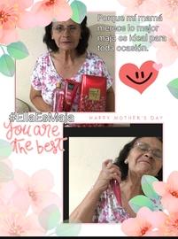 #EllaEsMaja, porque mí mamá merece lo mejor maja es la opción ideal para hecerla feliz.