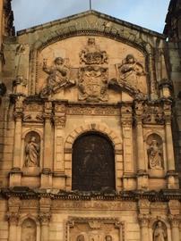 Portada del Templo de Santo Domingo de Guzmán, Oaxaca